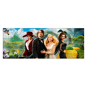 Oz the Great and Powerful. Размер: 80 х 30 см